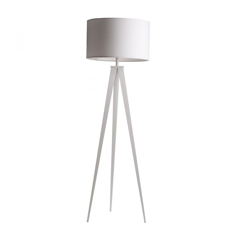 lampe tr pied noir ou blanc tripod m tal zuiver. Black Bedroom Furniture Sets. Home Design Ideas