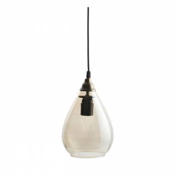 Simple - Suspension vintage en verre