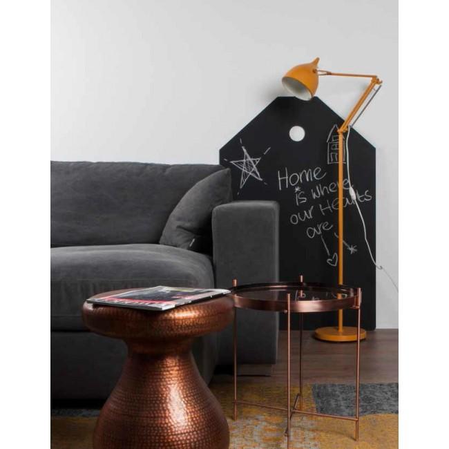 Table basse Antique Copper cuivre ambiance