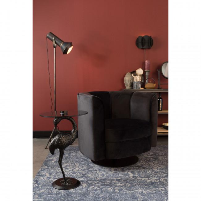 Crane - Table d'appoint ronde en métal ø40cm