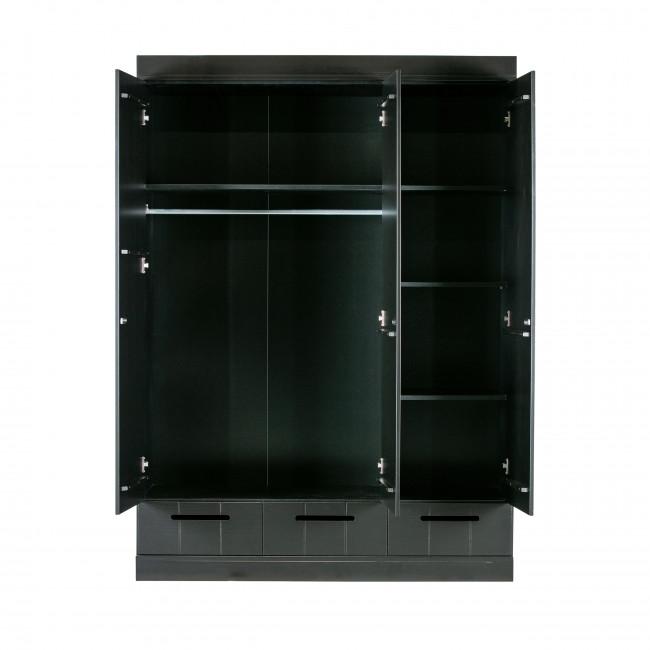 """Armoire """"vestiaire"""" 3 portes / 3 tiroirs Connect"""
