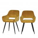 Lot de 2 fauteuils design Jelle