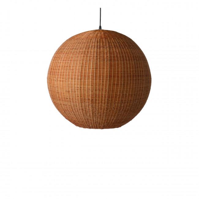 Hevesk - Suspension boule en bambou tressé