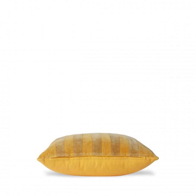 Shawell - Coussin en velours à rayures 45x45cm