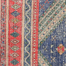 Terbog - Tapis bleu et rouge d'inspiration orientale