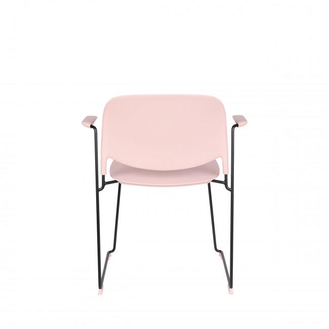 Stacks - 4 fauteuils de table en plastique