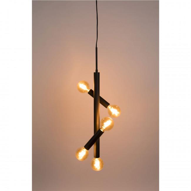 Hawk - Suspension en métal 5 ampoules