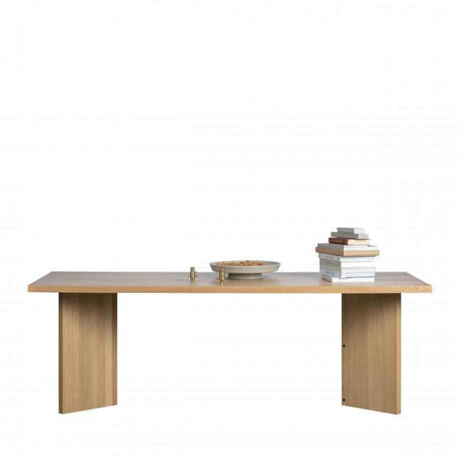 Angle - Table à manger en bois 90x220cm