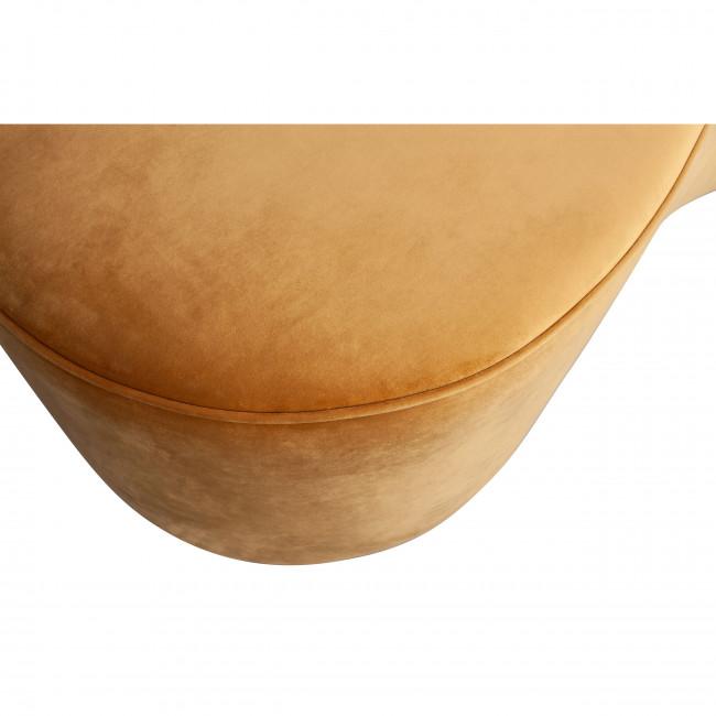 Macaroni - Banc en velours 162cm