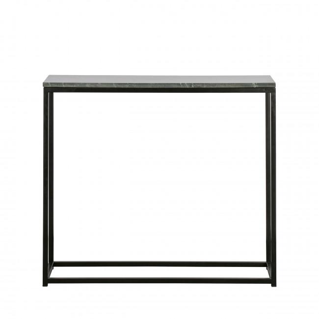 Mellow - Bout de canapé en métal et marbre 90x30cm