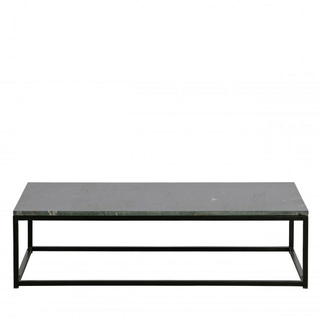Mellow - Table basse en métal et marbre 120x60cm