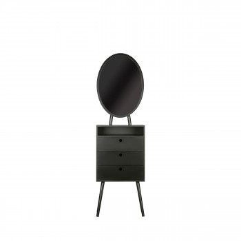Vanity - Coiffeuse en bois 55x35cm