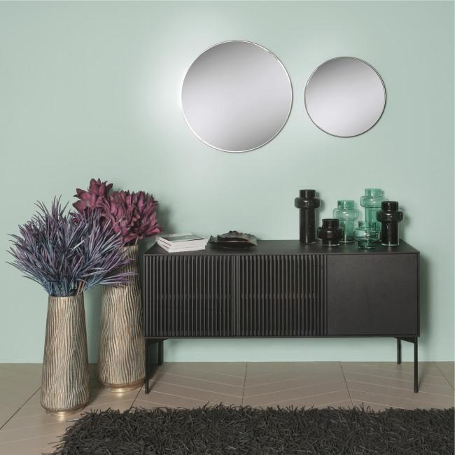 Palace - Miroir rond en métal ø50cm