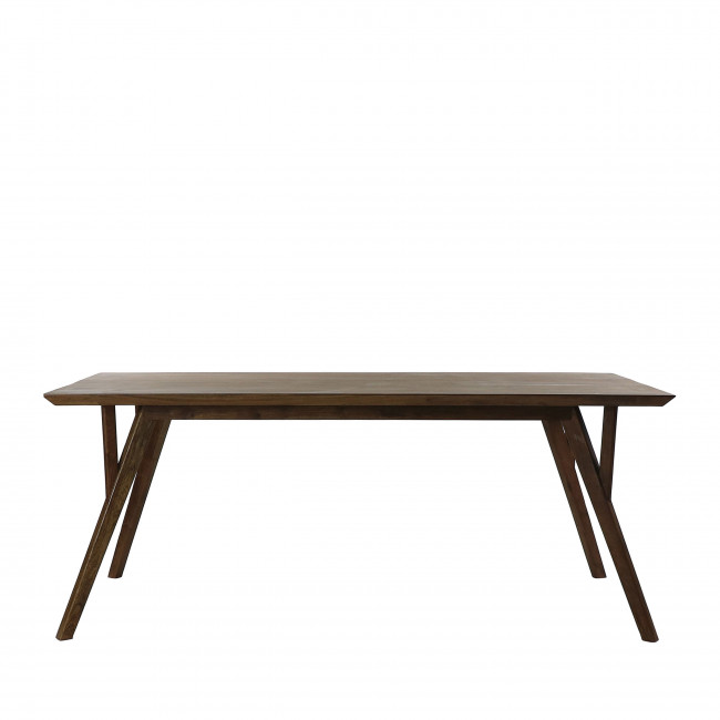 Hopper - Table à manger en bois 190x90cm