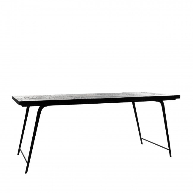 Ohio - Table à manger en bois 185x86cm