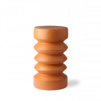 Oeken - Table basse ronde en grès ø23cm