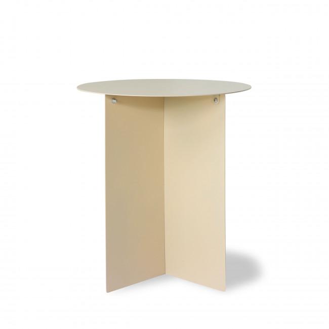 Broek - Table basse ronde en métal ø40cm