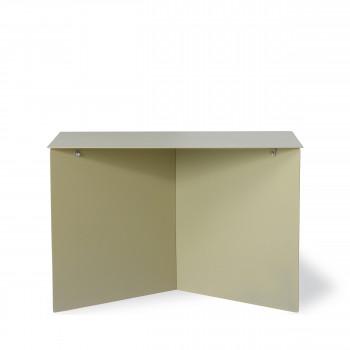 Broek - Table basse rectangle en métal 60x45cm