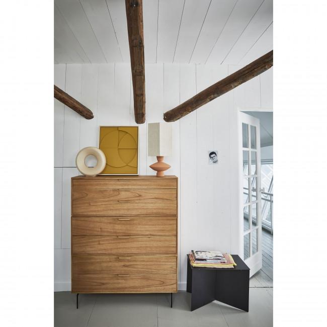 Broek - Table basse rectangle en métal 55x36cm