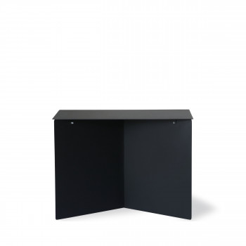 Broek - Table basse rectangle en métal 55x36cm