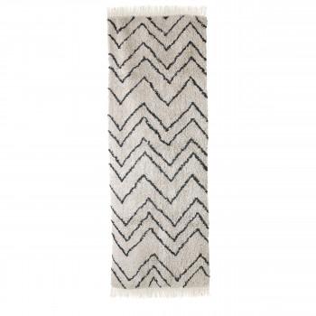 Heeze - Tapis d'inspiration berbère à motifs zigzags