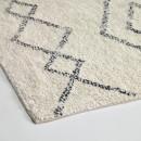 Marivi - Tapis d'inspiration berbère en tissu