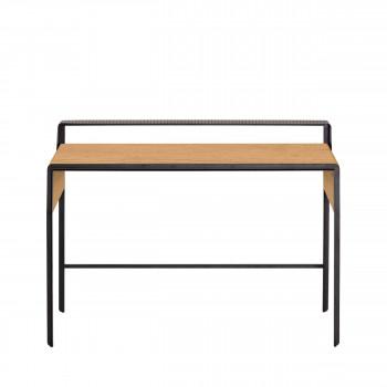 Nadyria - Bureau en métal et bois