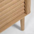 Lenon - Buffet 2 portes 3 tiroirs en bois