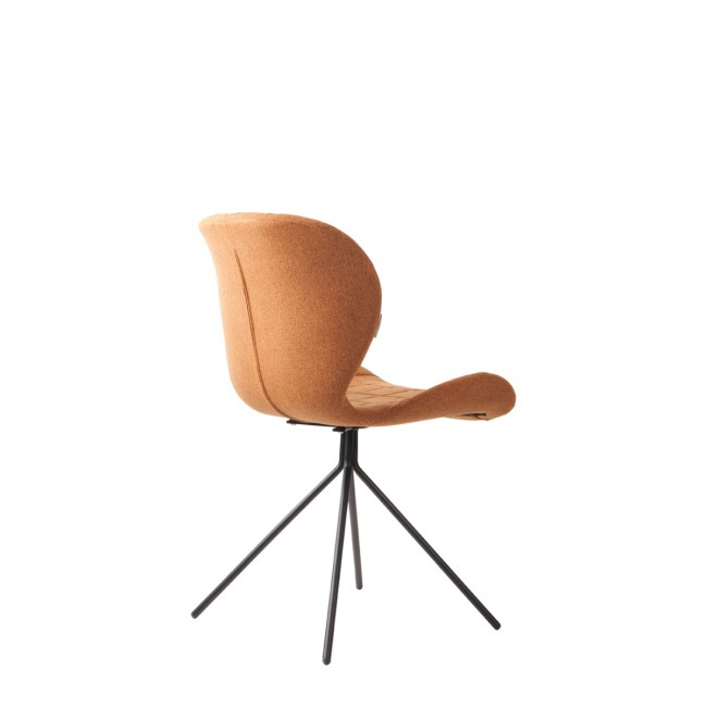 Lot de 2 chaises design OMG orange