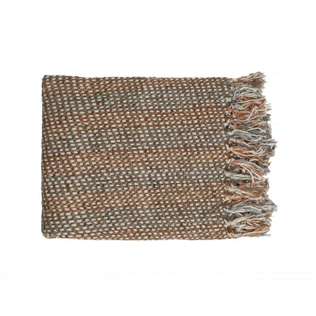 Zahir - Plaid en coton 130x170cm