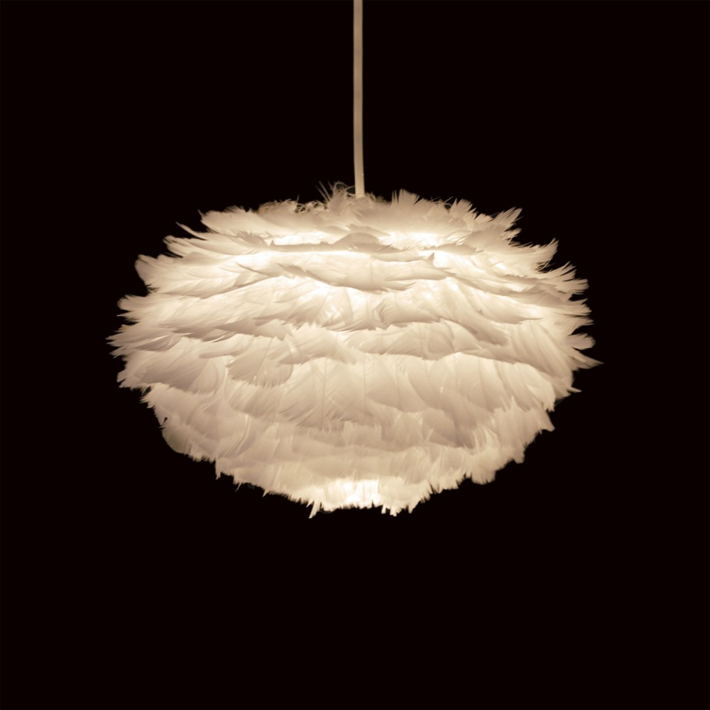 Suspension Plume Lampe Design Eos Drawer