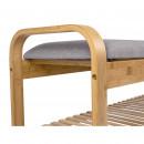 Arch - Banc en bois et tissu