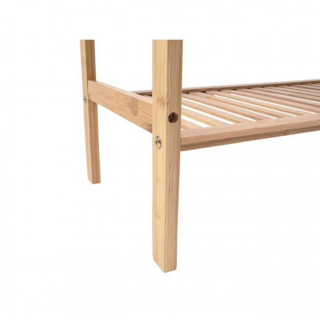 Dure - Banc en bois et tissu