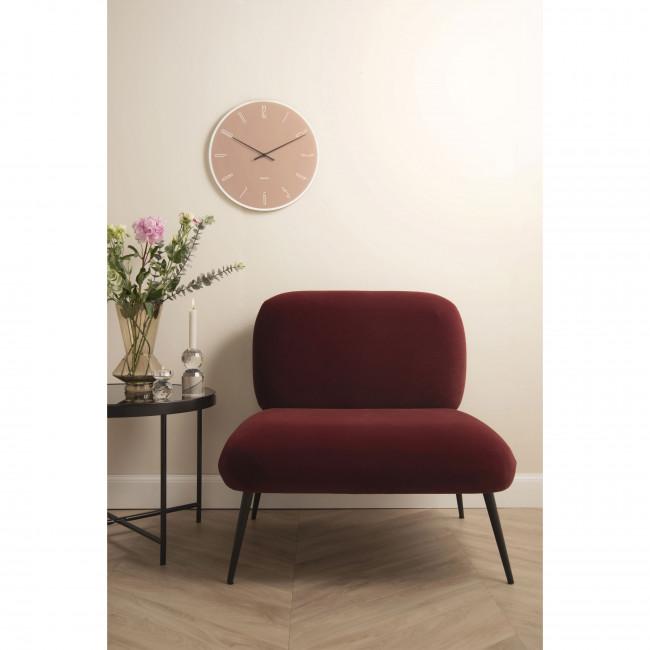 Puffed - Fauteuil lounge en métal
