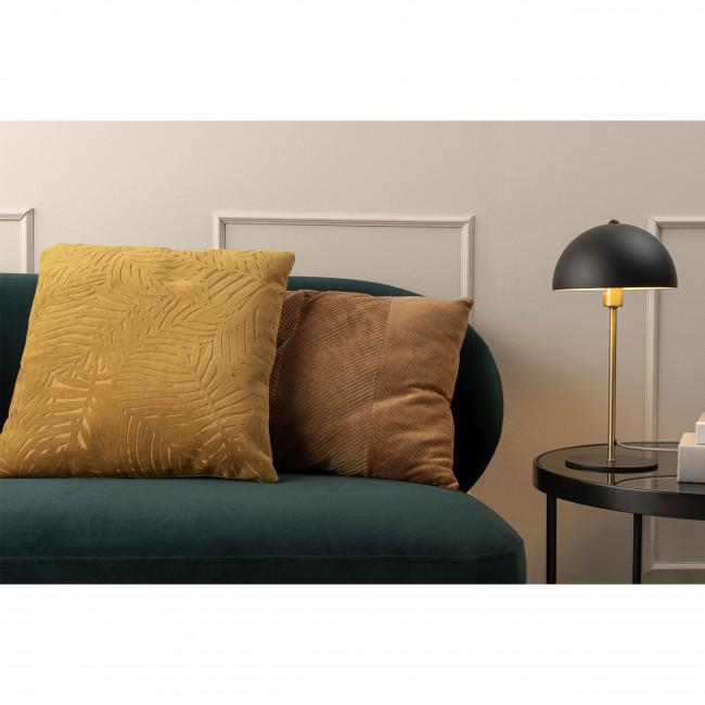 Ribbed - Coussin en velours à motifs chevrons 40x60cm