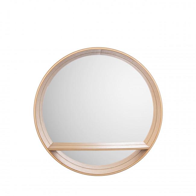 Sheer - Miroir rond en bois ø46cm