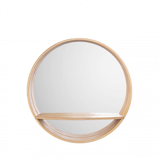 Sheer - Miroir rond en bois ø61cm