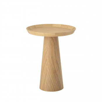 Luana - Table basse ronde en bois ø44cm