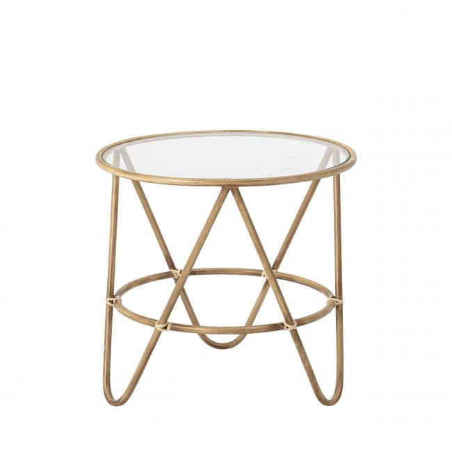 Verdon - Table basse ronde en métal ø50cm