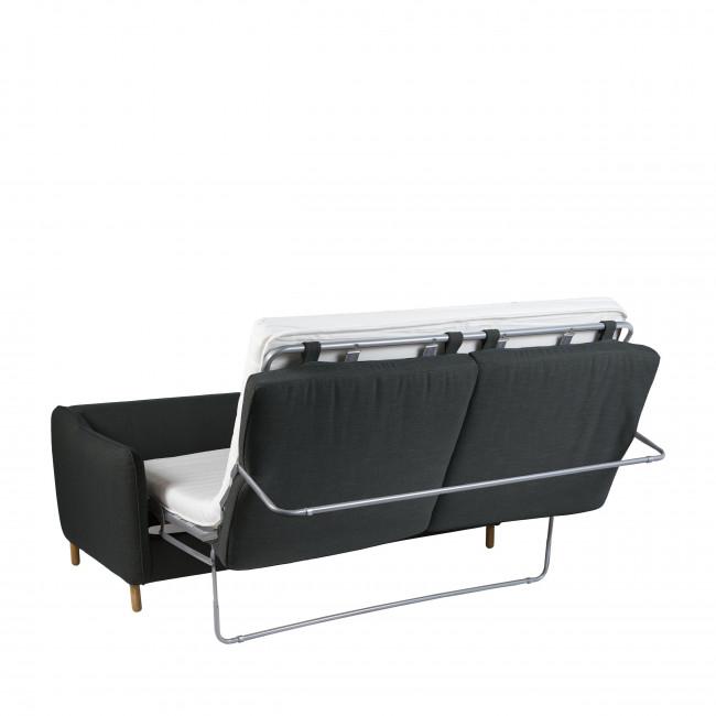 Vornay - Canapé convertible ouverture express 2 places en tissu