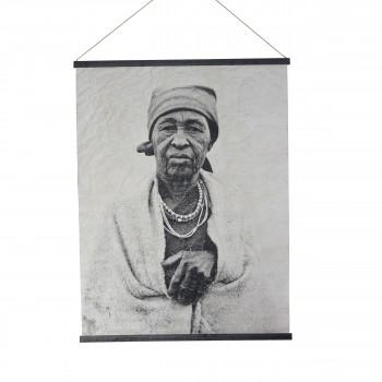 Gospel - Déco murale en papier portrait