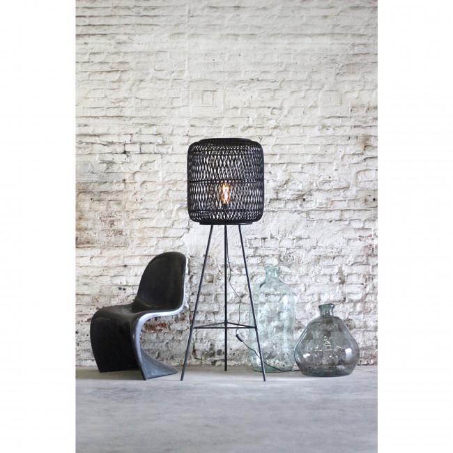 Miramar - Lampadaire design en rotin