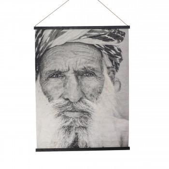 Pradesh - Déco murale en papier portrait 94x122cm