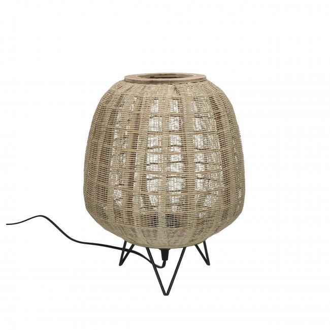Lokken - Lampe à poser en bambou ø26,5cm