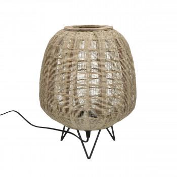 Lokken - Lampe à poser en bambou ø35,5cm