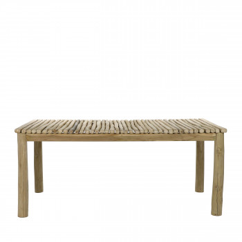 Havana - Table à manger en bois 180x90cm