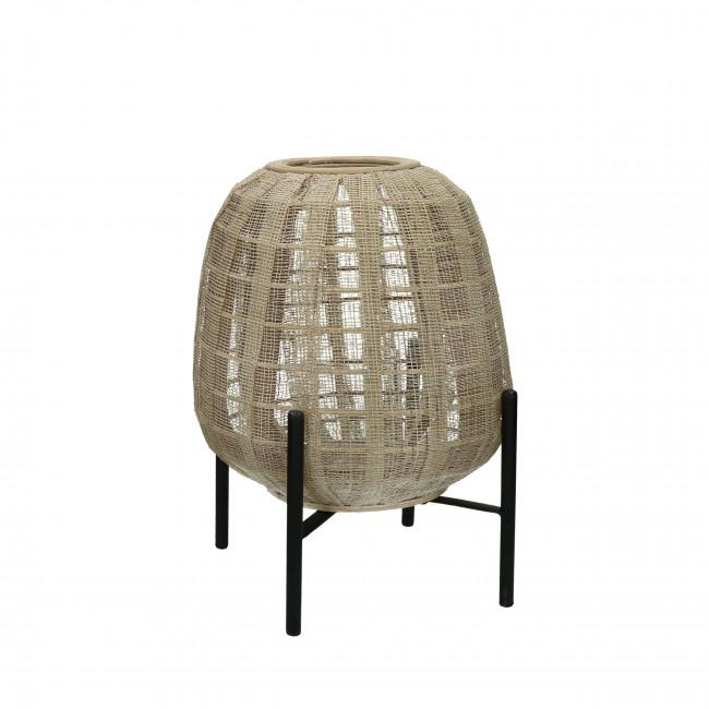 Hanoi - Lanterne en bambou ø29,5x32,5cm