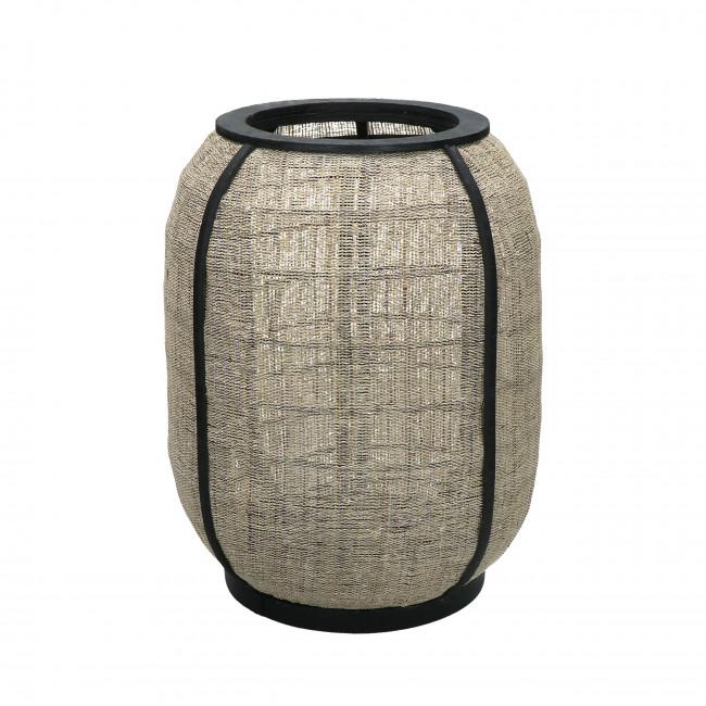 Pleiku - Lanterne en bambou ø28x36cm