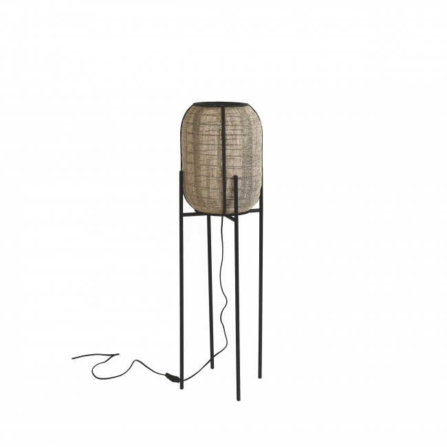 Pleiku - Lampadaire en bambou ø31x105cm