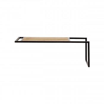 Upside Down - 2 étagères en bois et métal 60x30cm